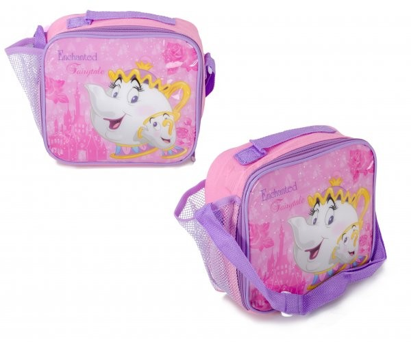 1225HV-8354 LUNCHBOX WITH MESH POCKET AND STRAP