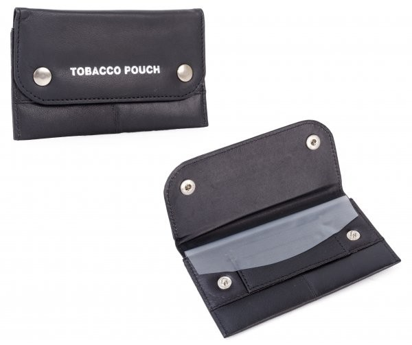 1197 N SMOOTH LEATHER TOBACCO POUCH