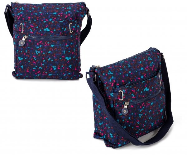 JBNHB04 BUBBLE 4 ZIP CROSS BODY BAG