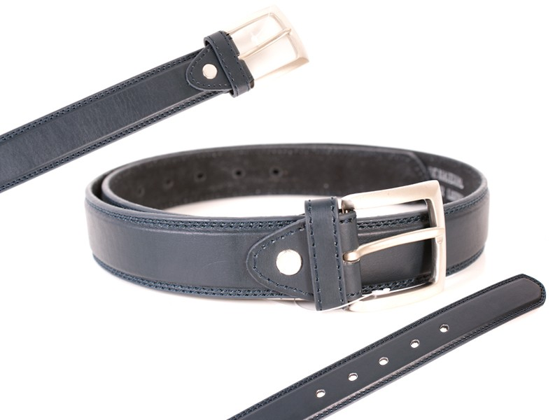 "MILANO 2729-NAVY 1.25""BELT"