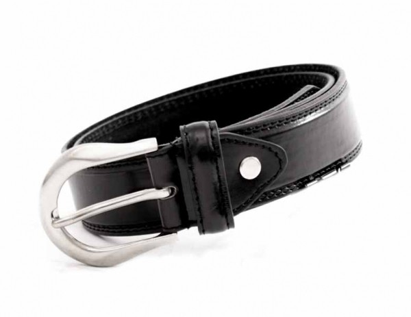 "2751 1.5"" BELT WITH DOUBLE STITCHING"