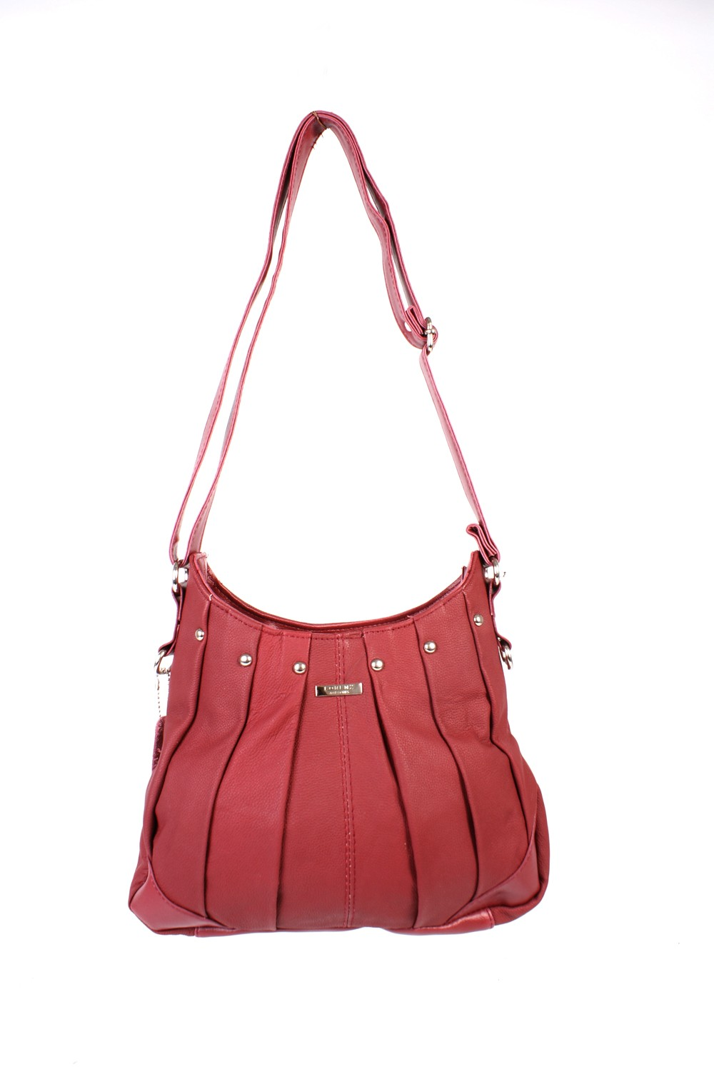 3731 DARK RED C.Hide Bag