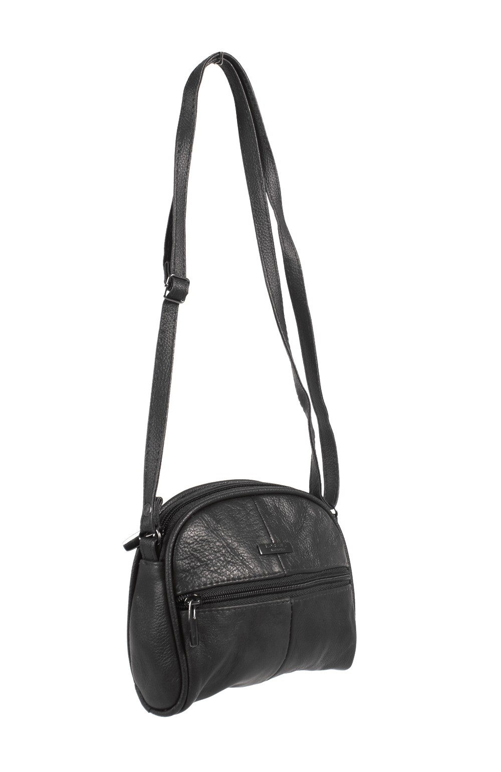 3735 BLACK COW HIDE  BAG