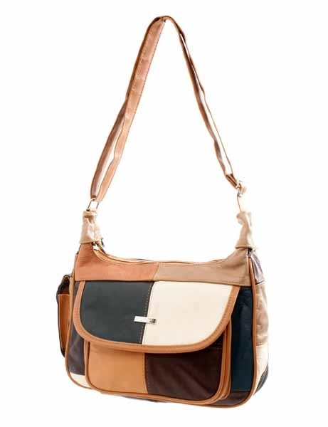 3822 MULTI COWHIDE BAG