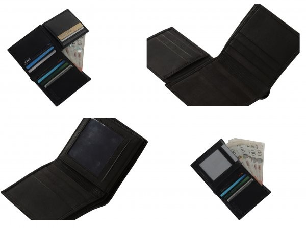 BB3 RFID LEATHER WALLET