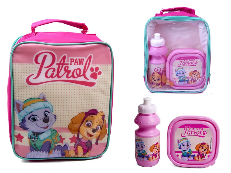 4105V-7190 PAW PATROL lunch bag with box and bottle