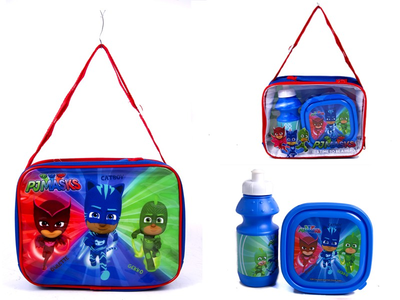 4105V-74492 PJMASKS lunch bag with box and bottle