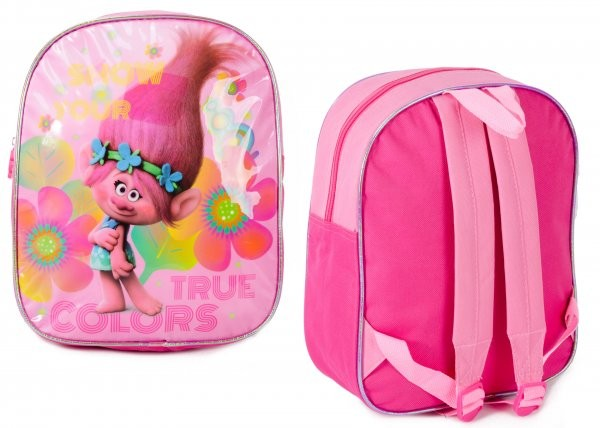 B116301 PINK TROLLS JUNIOR BACKPACK