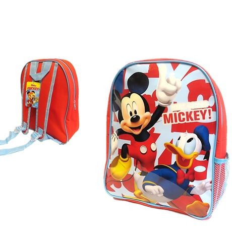 1000E28-82472 Backpack Mickey with mesh side pocket