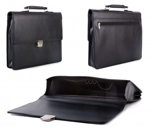 BR9505 BLACK TASSIA BUSINESS BRIEFCASE