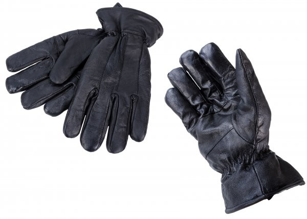 8926 EXTRA LARGE BLACK LEATHER GLOVES W/ THINSULATE