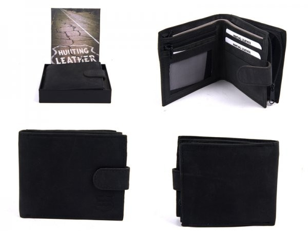 1180 HUNTING BLACK LEATHER WITH RFID