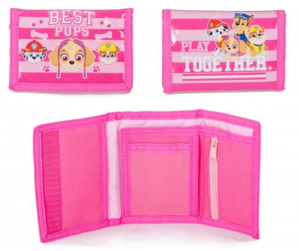 00791 PAW PATROL GIRLS TEAMWORK WALLET
