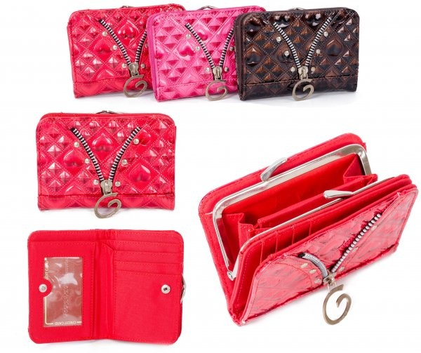 PU-31 RED PU PURSE W/CLASP