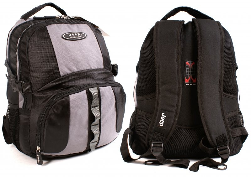 2aa3a330387 PH-802 BLACK AND GREY JEEP BACKPACK - 040 - Backpacks from £6.50 up ...