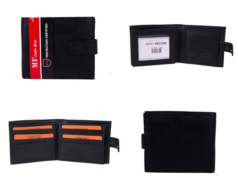 DM 5 100% LEATHER RFID WALLET