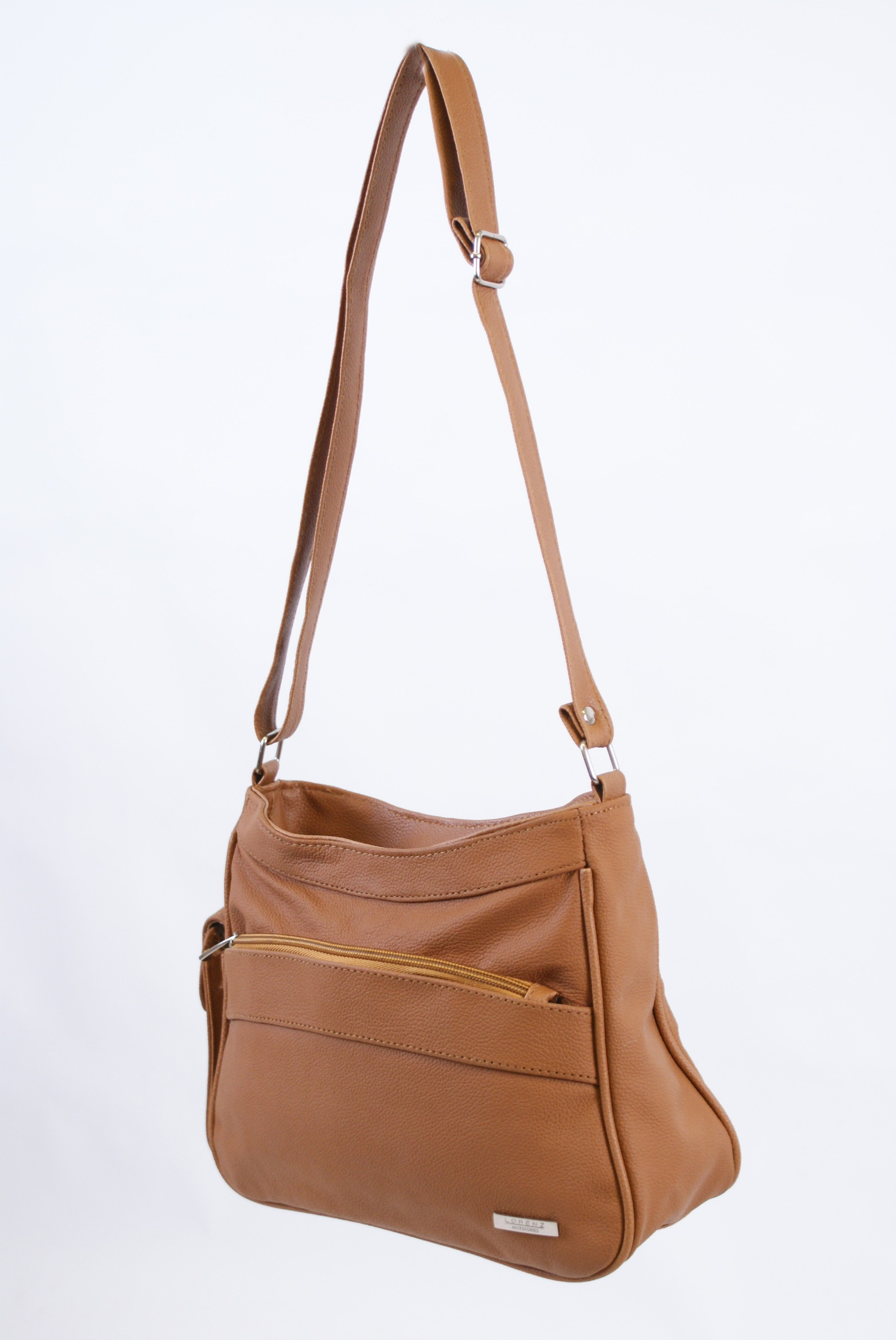 3743 TAN COW HIDE  BAG