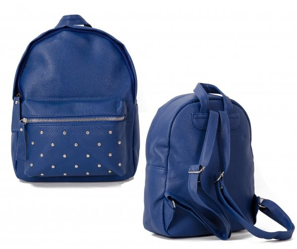 JBFB202 BLUE PU BACKPACK