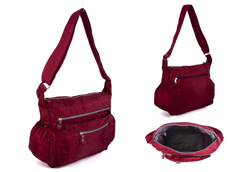 JBNHB20 RED XBODY WITH 5 ZIPS AND TWO SIDE POCKETS