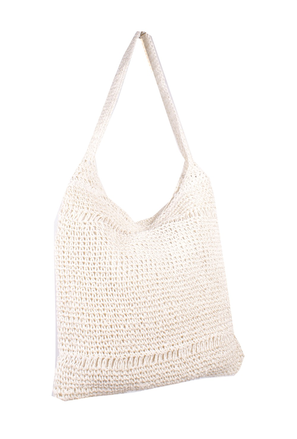 KNIT SHOPPER WHITE