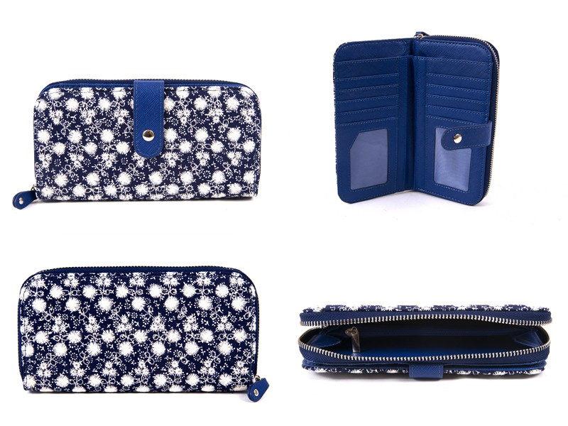 LJP-102 NAVY LILLY & JANE PURSE