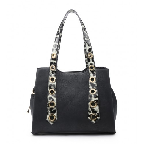 W6110 Shoulder Bag -Black/Grey