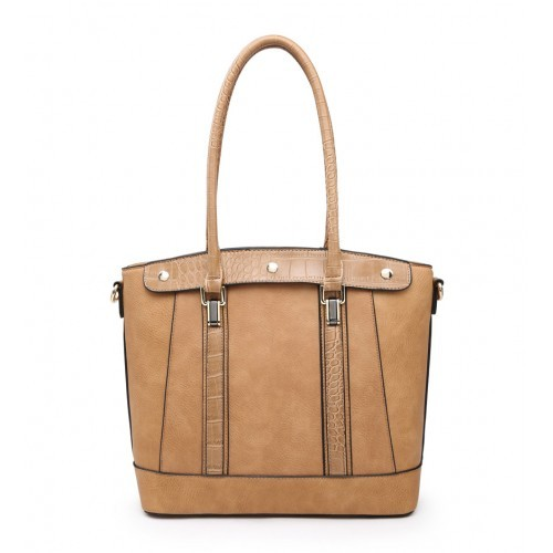 W6116 Shoulder Bag-Apricot