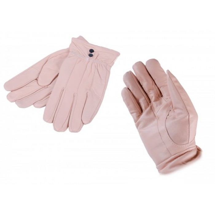 LG-004 MEDIUM NUDE LEATHER GLOVES