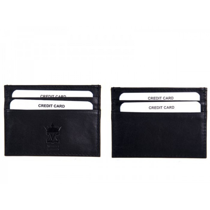 786 BLACK LEATHER CARD HOLDER