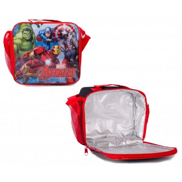 1706HV-57472 AVENGERS KIDS LUNCH BAG