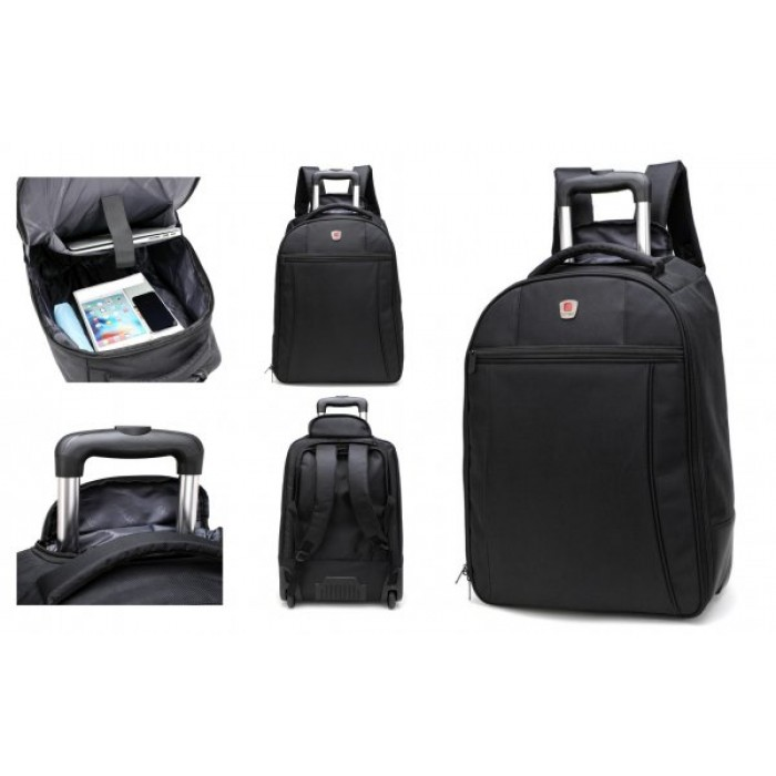 WBP820 LARGE CITY BAG WHEELED BACKPACK