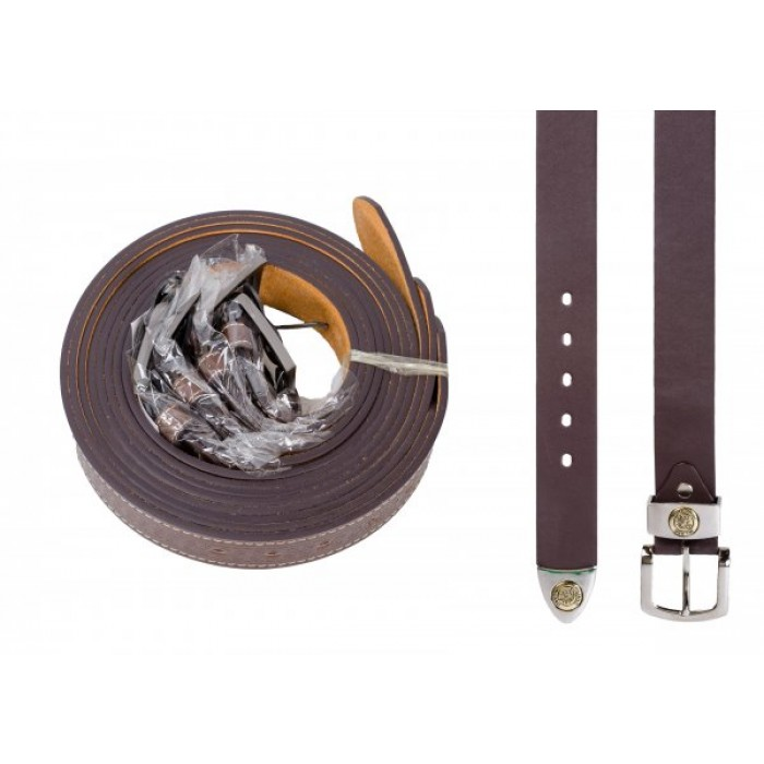 "2752 DOZEN 1.5"" MILANO BROWN BELT WITH TIP"