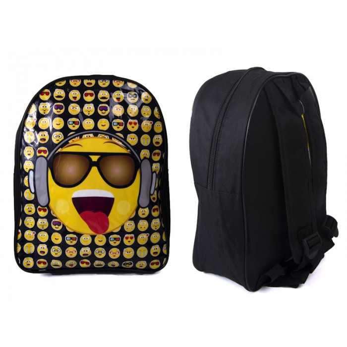 1029HV-7156 KIDS BACKPACK WITH EMOJI