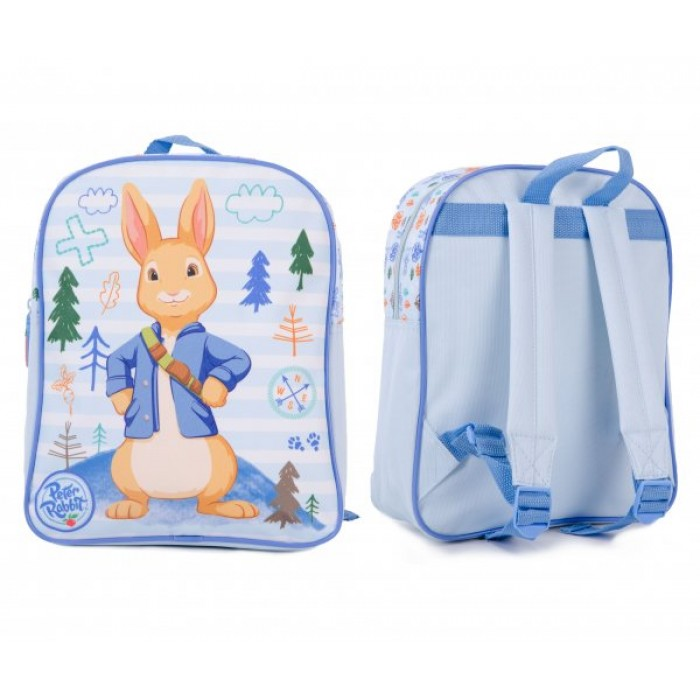 00356 PETER RABBIT BOYS BABY BLUE PV BACKPACK