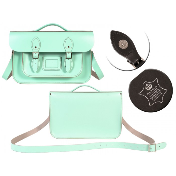14 MINT MAGNET ENGLISH BRIEFCASE SATCHEL