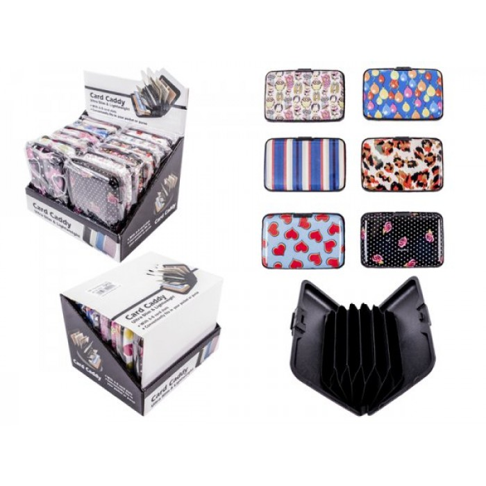 0002 BOX PATTERN SET OF 12 CARD CADDY