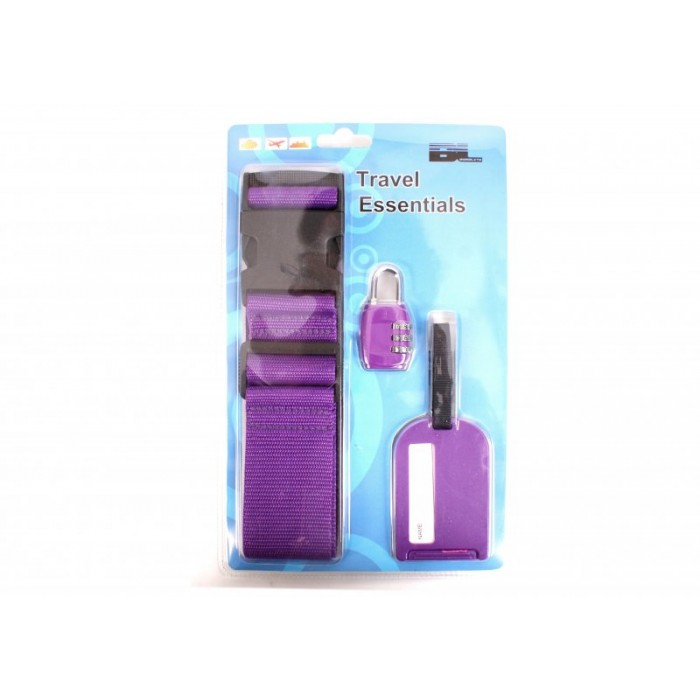 TRAVEL ESSENTIALS - PURPLE