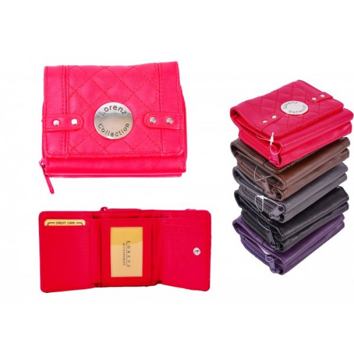 7551 LORENZ COLLECTION PURSE RED