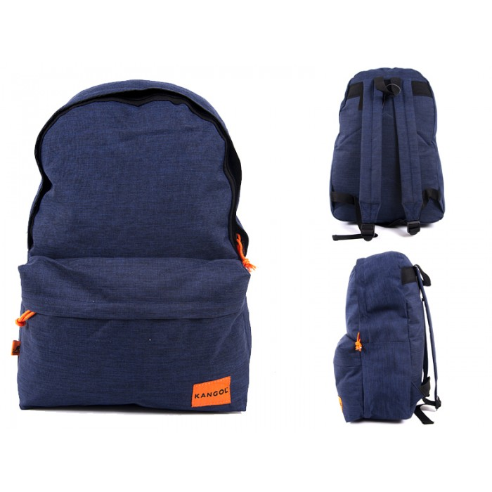 2130092 kangoi Navy/Orange Backpack