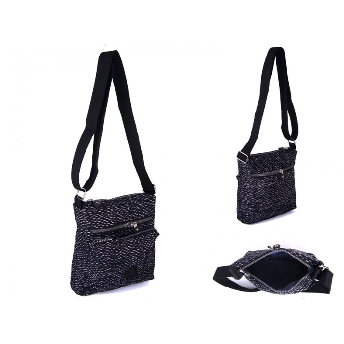 2501 BLK FLECKS Lorenz shoulder bag