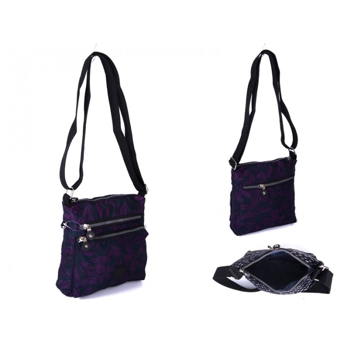 2501 PURPLE BOWS Lorenz shoulder bag
