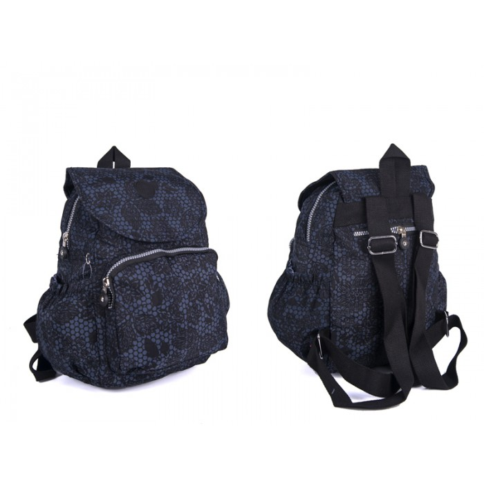 2504 BLK FLORAL Lorenz Backpack