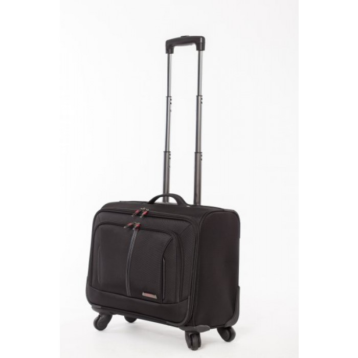 "WLB41 BLACK 18"" Laptop Trolley Bag"