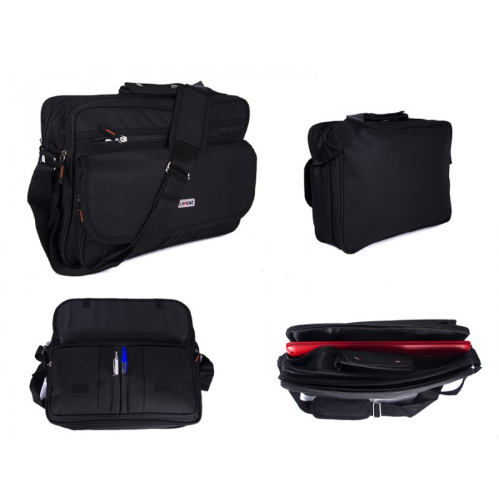 2581 TWN TOP ZIP BUSINSS/LAPTOP BAG,FRONT ZIP &