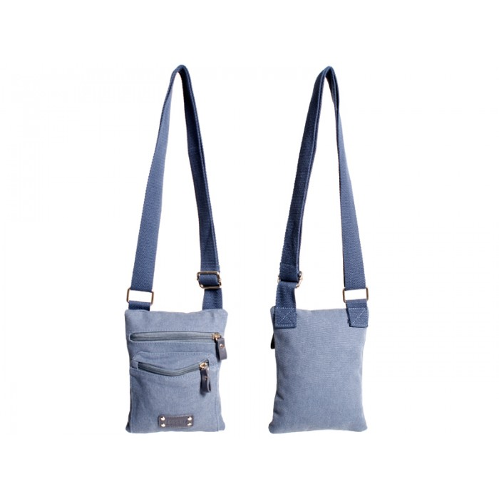 2589 SMALL X-BODY CANVAS BAG NAVY