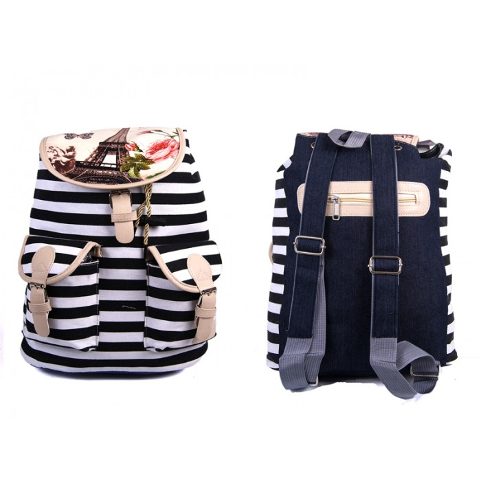 2605 Paris - Black Stripe - I054