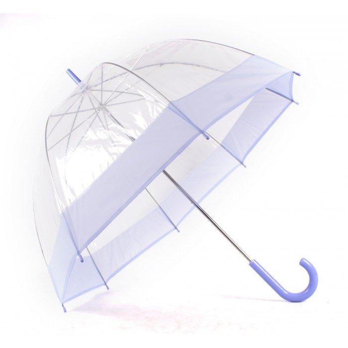 2804 LILAC Clear Pvc Dom Umbrella