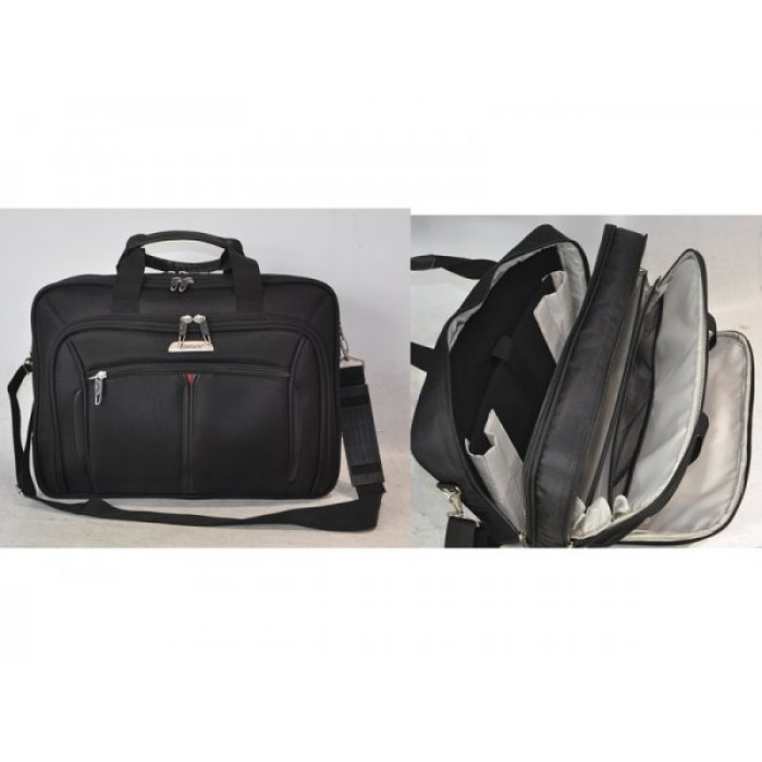 "LB17 BLACK 17"" LAPTOP BAG"