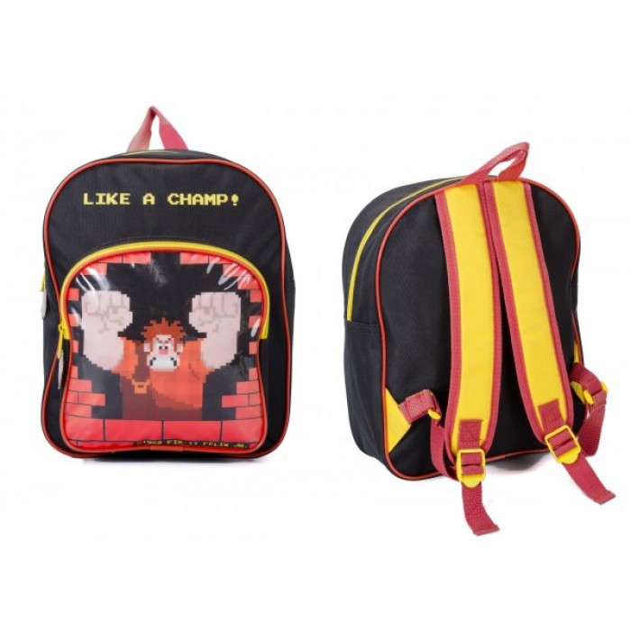 DWR-8034 WRECK IT RALPH CHILDREN'S BACKPACK
