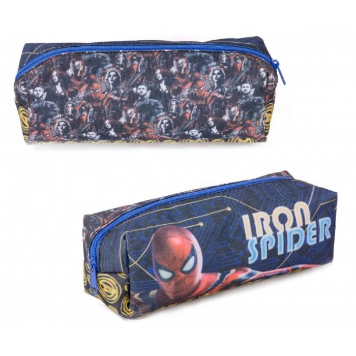 1015-8323F IRON SPIDERMAN RECTANGULAR PENCIL CASE